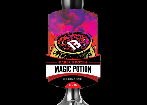 Baker's Dozen Magic Potion