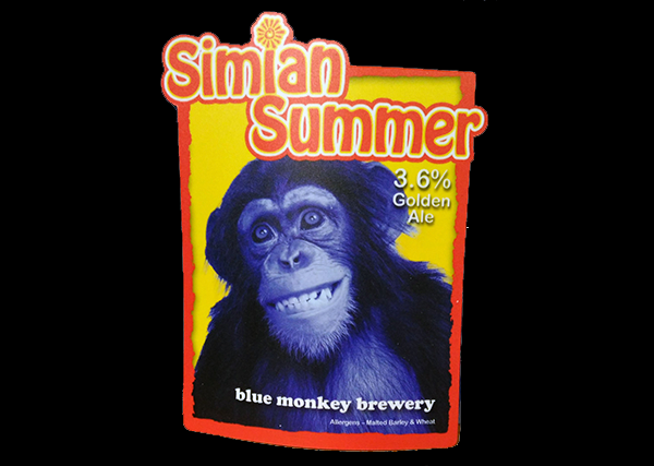 Blue Monkey Simian Summer
